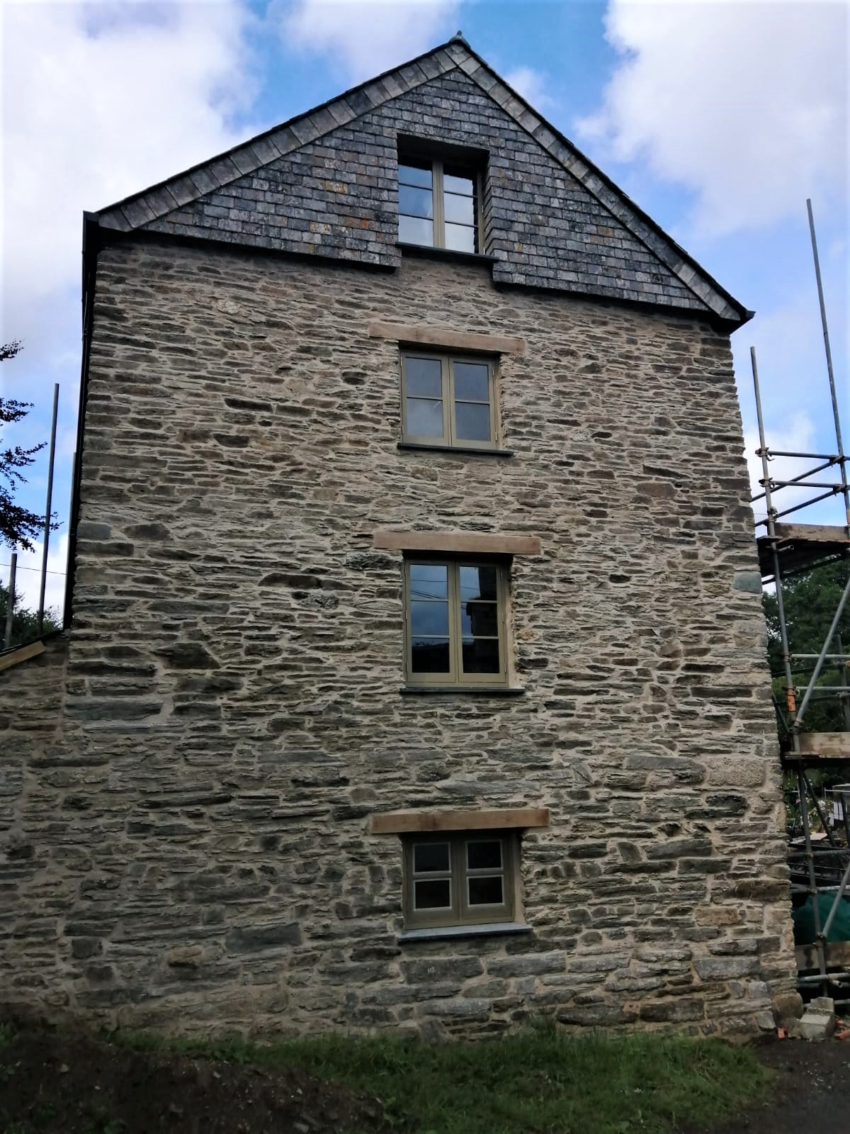Historic Grade II Listed Mill Restoration Cornwall